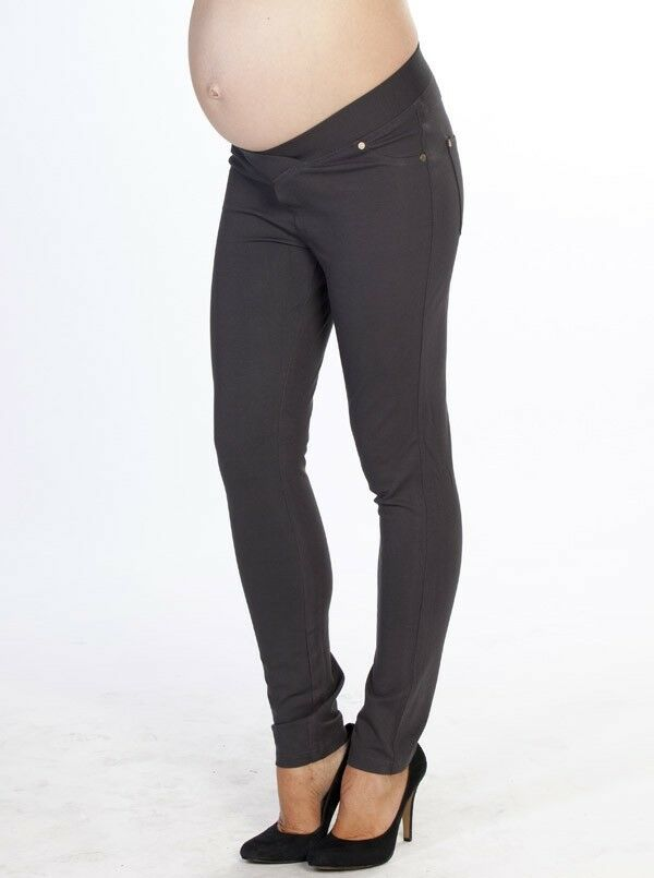 Miracle Maternity Pants - Charcoal