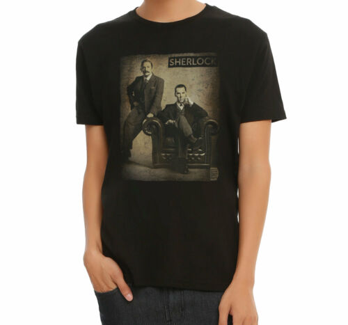 BBC Sherlock SEPIA PHOTO T-Shirt NWT Licensed /& Official