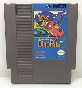 Nintendo-NES-Adventures-of-Dino-Riki-Game-Cartridge-Authentic-Cleaned-Tested