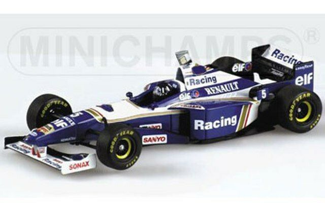 MINICHAMPS WILLIAMS RENAULT F1 diecast model F1 cars Damon Hill 1993 94 96 1 43