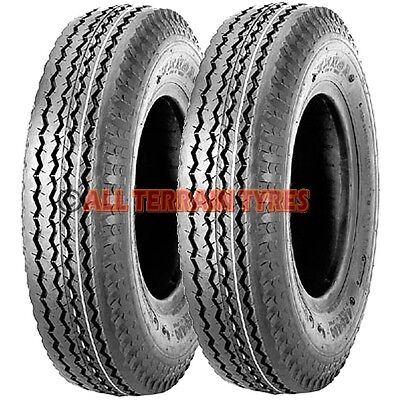 5.00-10 500-10 KENDA 8 Ply Tubeless Trailer Tyres 5.00x10 500x10 500 5.00 10 84M