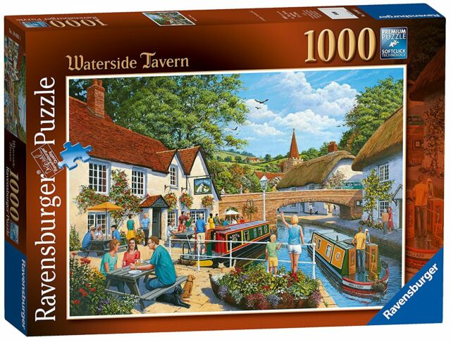 Ravensburger Waterside Tavern, 1000pc Jigsaw Puzzles