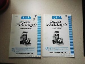 Constructif Sega Sport Fishing 2 Original Owners & Part List Manual