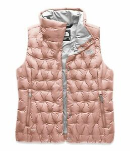 The-North-Face-Women-039-s-Holladown-Crop-Vest-Misty-Rose-NWT-139