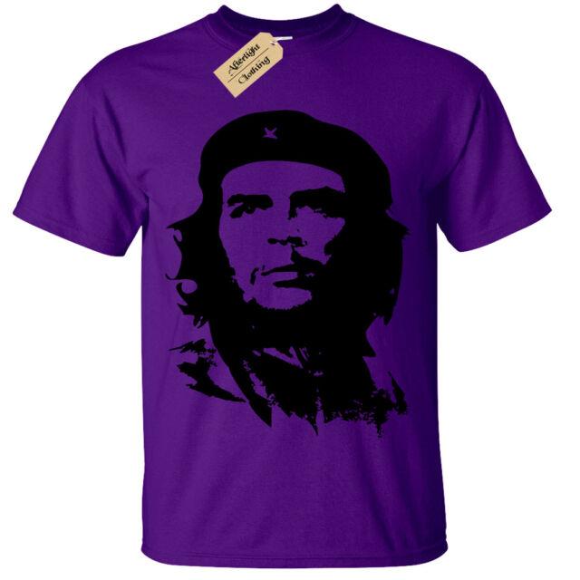Che Guevara T Shirt SCREEN PRINTED Mens Ringer S-3XL retro