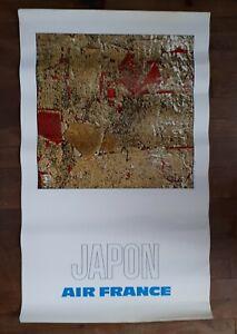 Raymond-PAGES-affiche-Air-France-JAPON