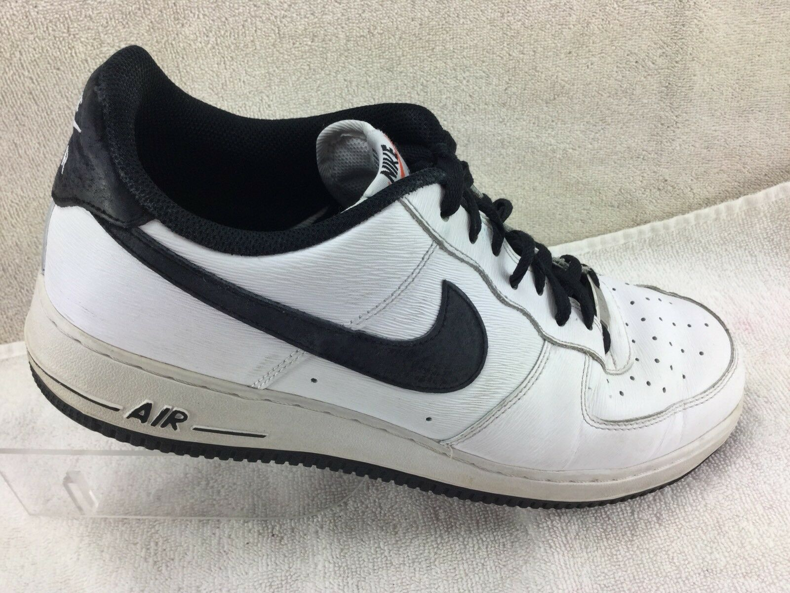 Nike Air Force 1 Men's Shoes White Leather Comfortable Cheap and beautiful fashion