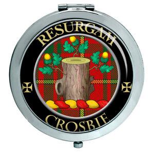 Crosbie Schottische Clan Kompakter Spiegel