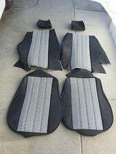 BMW E30 325i 318e UPHOLSTERY KIT STANDARD SEATS BLK/WHITE HOUNDS TOOTH BEAUTIFUL
