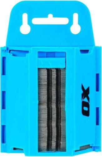 en distributeur Case Safe Carry Box Pack de 100 Lames pour Stanly Couteaux