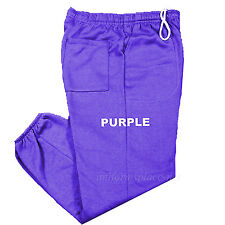 Unisex Mens Womens Sweatpants Fleece Workout Gym Pants Elastic Waist S - 5XL