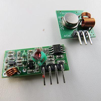 5X  433 Mhz RF Sender Empfänger Receiver Wireless Transmitte Modul Arduino