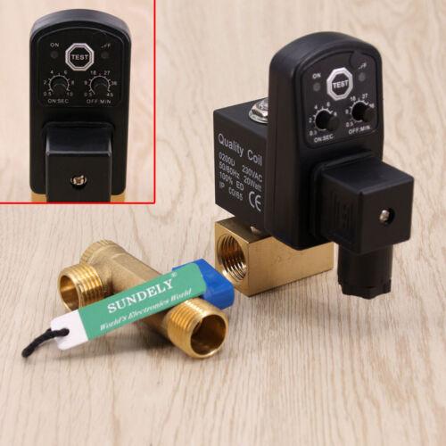 Automatisch Elektronisch Zeitgesteuerte Kompressor Kondensat Auto Ablassventil