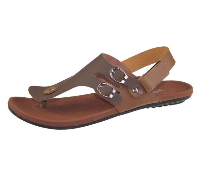 07fcf174338a Mens Sandals Velcro Casual Beach Fashion Boys Walking SLIPPER Flip ...