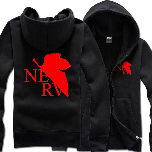 Neon Genesis Evangelion EVA Clothing Hooded Sweatshirt ...