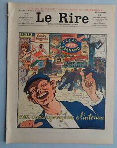 Le-RIRE-n-406-de-1902-double-pages-couleur-GRANDJOUAN-034-Un-peu-de-publicite-034