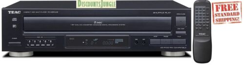 Teac PD-D2610MKII  PD-D2610MK2 5-Disc Carousel CD Player Remote CD,CD-R//RW MP3