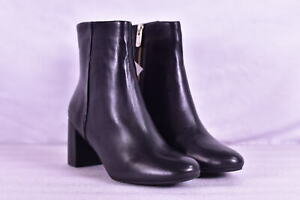 Women-039-s-Taryn-Rose-Cassidy-Sheep-Ankle-Booties-Black-10M