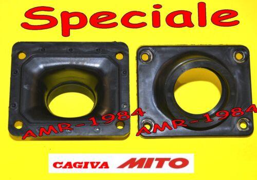 Intake manifold Cagiva Mito for carburetor Dellorto e Mikuni Ø 34 Ø 35 Ø 37 Ø 39