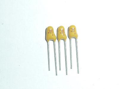 10Pcs Tantalum Capacitor DIP 16V1UF 1UF 16V 105 Radial
