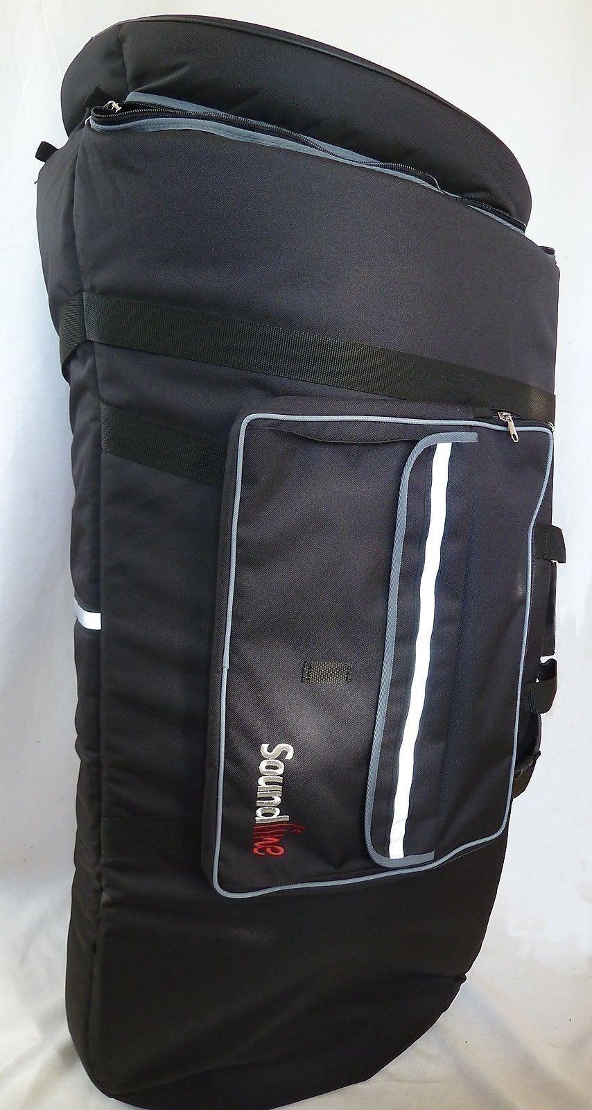 Gig-Bag Tasche für schlanke B Tuba ES Tuba F Tuba 42X96cm Fabr.  Pema made in EU