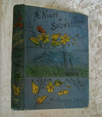 Night in a Snowstorm & Other Stories Charles Bruce 1891 Antique Victorian Decor