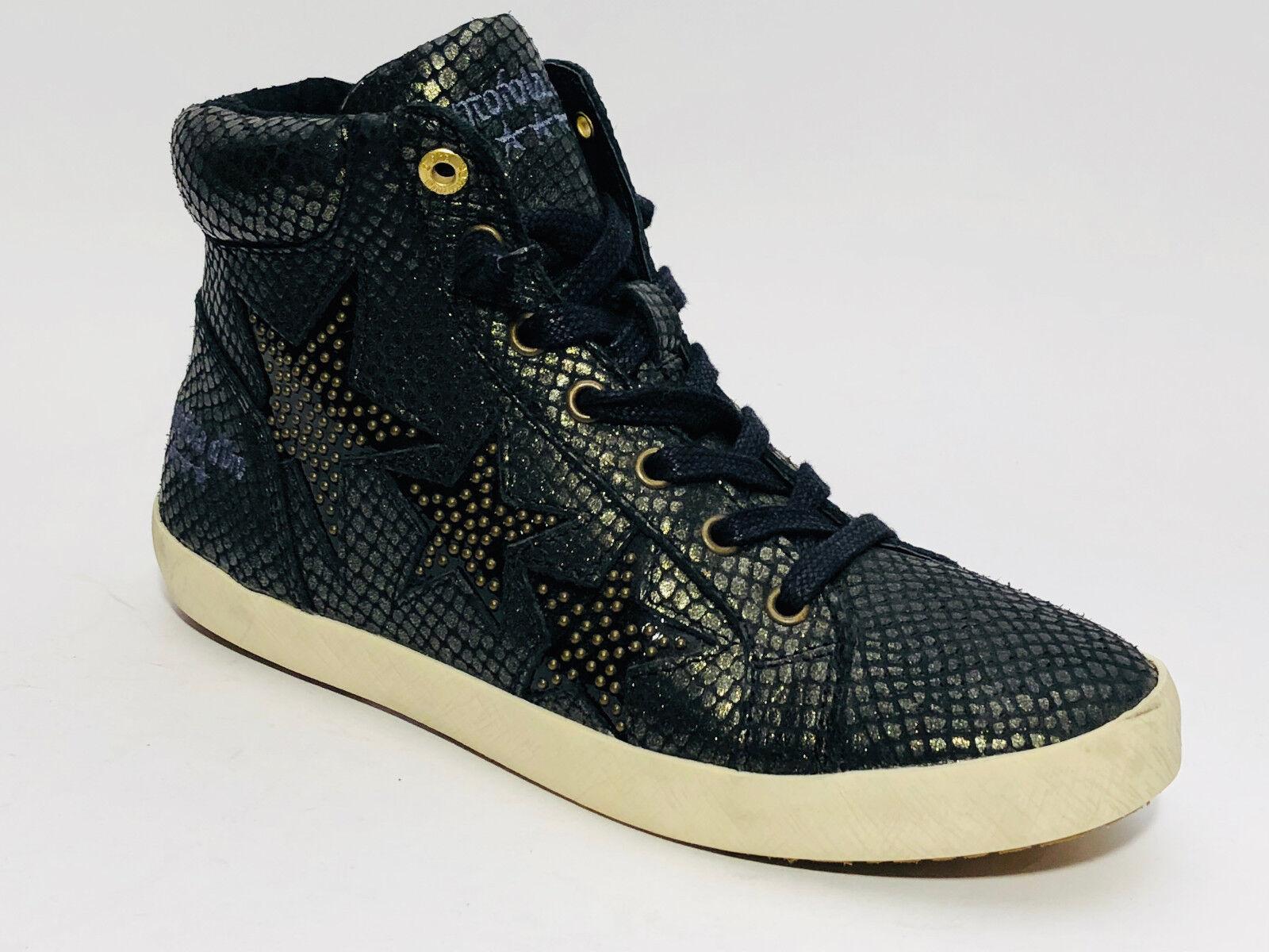 Pantofola D or Chaussures Femmes Hi baskets Taille 37 (UK 4) Noir bottes