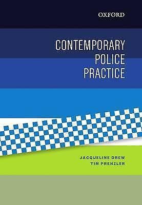 1 of 1 - Contemporary Police Practice by Tim Prenzler, Jacqueline Drew (Paperback, 2015)
