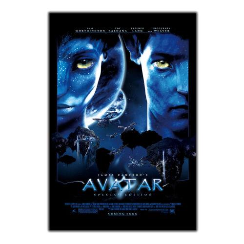 Art Poster Avatar 2009 Hot Movie Sam Worthington wall canvas room Decor 24x36