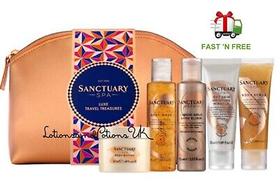 Christmas Gift Sets 2019.Sanctuary Spa Luxe Travel Treasures Ladies Christmas Gift Set 2019 Ebay