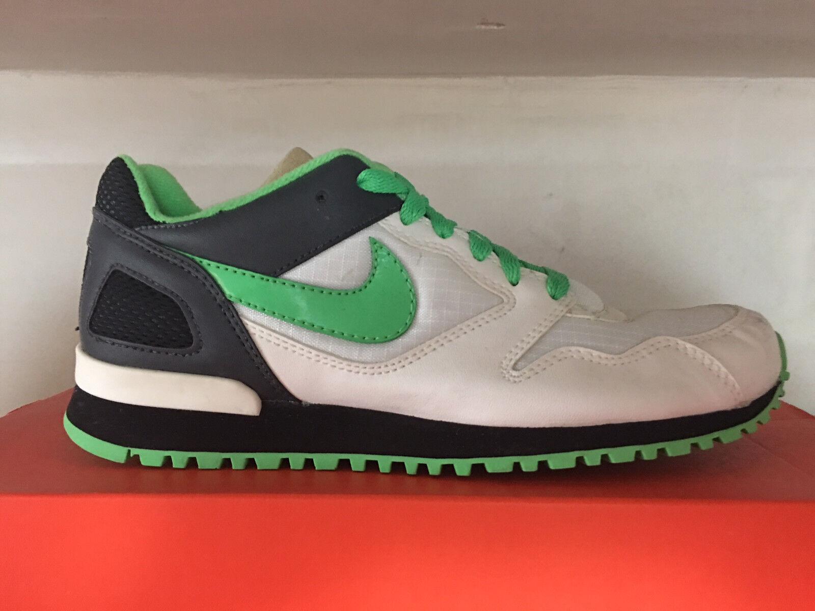 Damenschuhe NIKE Tyan Sommer Sneaker WEISS/Green Neu Gr:36,5 Retro Vintage Hammer