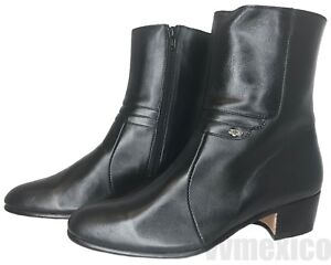 MENS HALF BOOTS CHELSEA ANKLE BOOTS