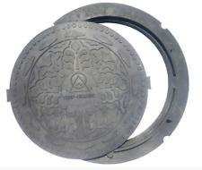 Schachtabdeckung Göbeldeckel Kanalabdeckung Klasse A 15 Durchmesser 600 mm rund