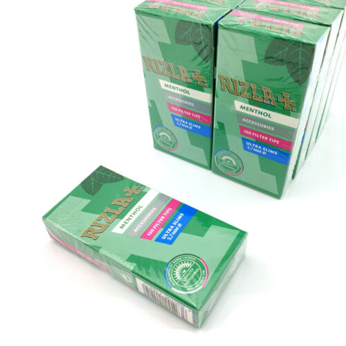 Rizla Menthol Ultra Slim Filter Tips Multiple Quantities Available