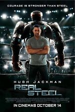Real Steel movie poster print - 11 x 17 inches - Hugh Jackman poster (a)