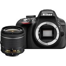 Nikon D3300 Digital SLR Camera + 18-55mm AF-P VR Lens: Black