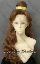 Beauty and the Beast Princess Belle Custom Made Lace Front Wig_commission860