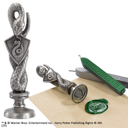 Harry Potter Slytherin Wax Seal NOBLE COLLECTIONS