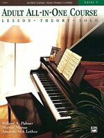 Alfred`s Basic Adult All-in-one Course, Bk 3: Lesson Theory Solo, Comb Bound on sale