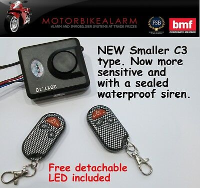 EASY FIT Mobility scooter / power chair / wheel chair Alarm - 2 wire connection