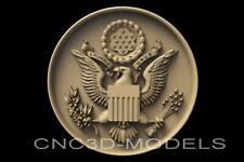 3d Stl Models For Cnc Router Carving Artcam Aspire Usa Eagle Army D650