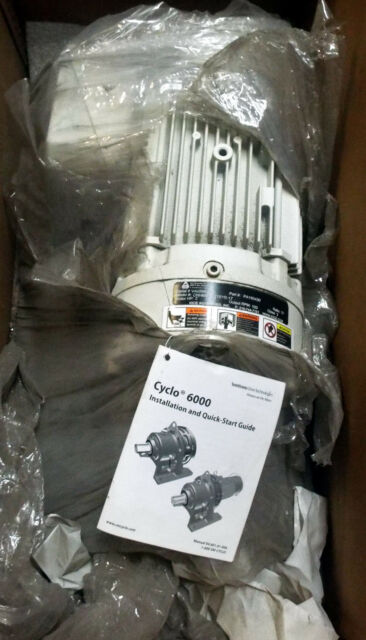 1 NEW SUMITOMO CNHMS2-6115YB-17  PA160430 CYCLO 6000 GEARMOTOR ***MAKE OFFER***