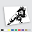 Adesivi in vinile Wall Stickers Prespaziati Goten Dragon Ball Auto Notebook pc