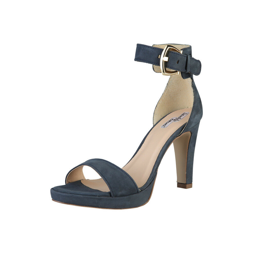 Arnaldo toscani zapatos señora sandalias tacón alto, 8035533 _ 139 Avio, azul, UE 40
