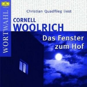CHRISTIAN-QUADFLIEG-DAS-FENSTER-ZUM-HOF-2-CD-8-TRACKS-HORBUCH-NEW