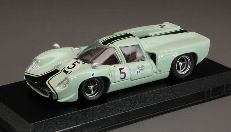 Lola t 70 Coupe'  5 dnf Brands Hatch 1967 Westbury m. de udy 1 43 Model
