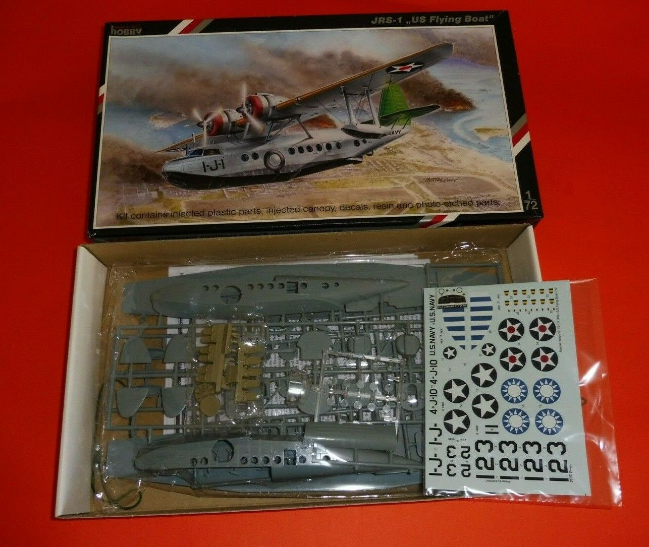 ZF647 Hobby special 1/72 maquette avion SH72111 JRS-1 US Flying Boat