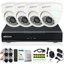 4CH 960H/D1 DVR 800TVL Video Recorder Surveillance Camera CCTV Security Kit US