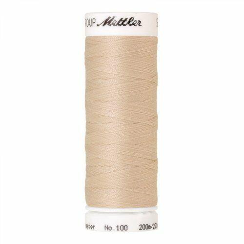 Mettler hilo de algodón 60//2 200m Color Tuerca de pino código del producto 0779