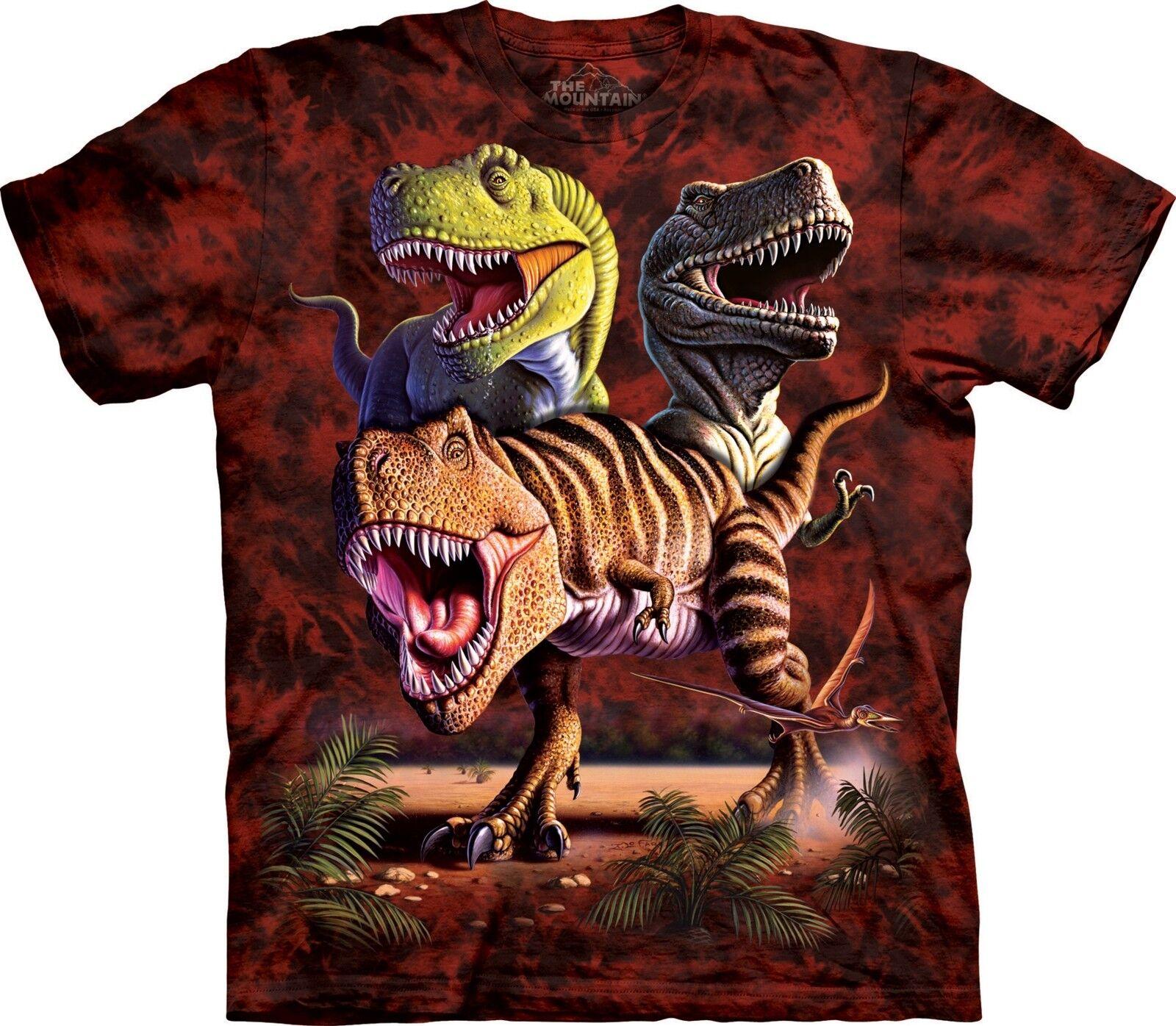 Rex Collage -Dinosaur Shirt Adult Unisex The Mountain